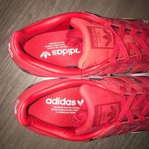 adidas Shoes - Red adidas sneakers